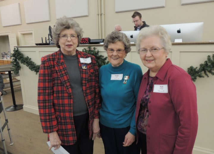 Marion, Tomlyn, and Ruth Cooper