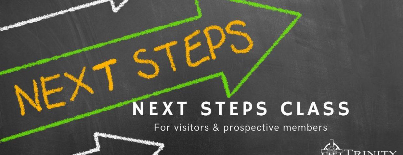 Next Steps Class graphic website